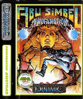 Juego online Abu Simbel: Profanation (CPC)