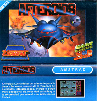 Juego online Afteroids (CPC)