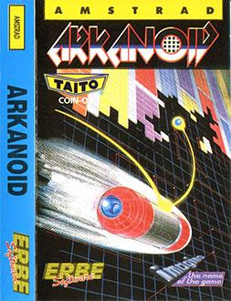 Portada de la descarga de Arkanoid