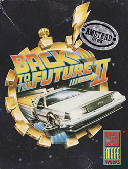 Juego online Back To The Future Part II (CPC)