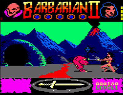 Imagen de la descarga de Barbarian II: The Dungeon of Drax
