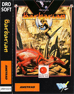 Juego online Barbarian (Melbourne House) (CPC)