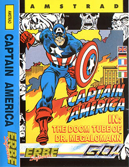 Juego online Captain America in: The Doom Tube of Dr. Megalomann (CPC)