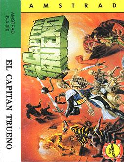 Carátula del juego El Capitan Trueno (CPC)