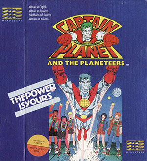 Juego online Captain Planet and the Planeteers (CPC)