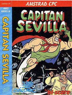 Carátula del juego Capitan Sevilla (CPC)