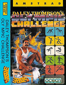 Juego online Daley Thompson's Olympic Challenge (CPC)