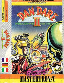 Portada de la descarga de Dan Dare II: Mekon's Revenge