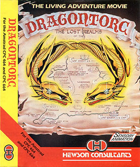 Juego online Dragontorc Of Avalon (CPC)