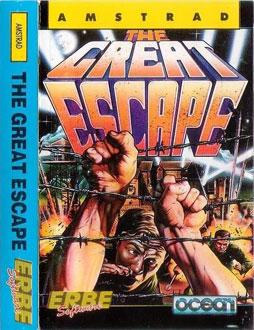 Carátula del juego The Great Escape (CPC)