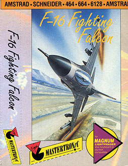 Juego online F16 Fighting Falcon (CPC)