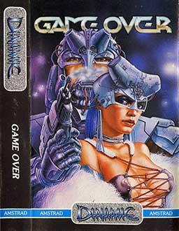 Carátula del juego Game Over (CPC)