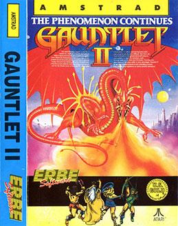 Carátula del juego Gauntlet II (CPC)
