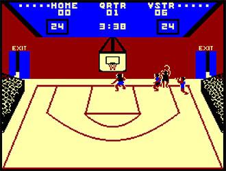 Pantallazo del juego online Gba Championship Basketball Two On Two (CPC)