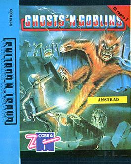 Carátula del juego Ghost'n Goblins (CPC)