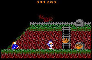 Pantallazo del juego online Ghost'n Goblins (CPC)
