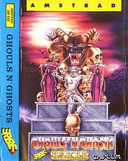 Juego online Ghouls 'N Ghosts (CPC)