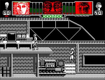 Pantallazo del juego online Hammerfist (CPC)