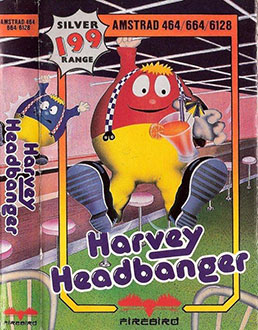 Juego online Harvey Headbanger (CPC)