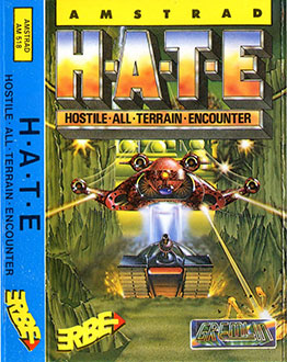 Carátula del juego HATE Hostile All Terrain Encounter (CPC)