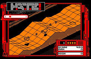 Pantallazo del juego online HATE Hostile All Terrain Encounter (CPC)