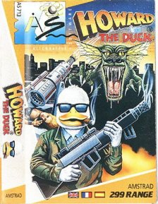 Portada de la descarga de Howard The Duck