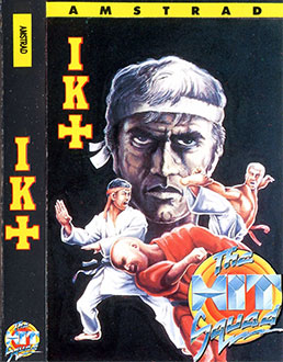 Carátula del juego International Karate Plus (CPC)