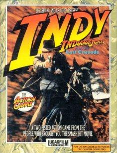 Carátula del juego Indiana Jones And The Last Crusade (CPC)