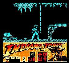 Pantallazo del juego online Indiana Jones And The Last Crusade (CPC)