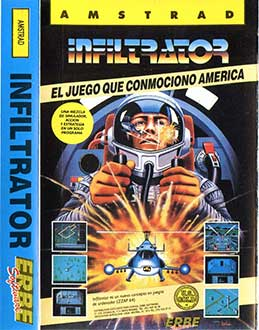 Juego online Infiltrator (CPC)