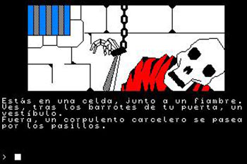 Pantallazo del juego online Jabato (CPC)