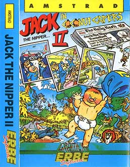Juego online Jack the Nipper II: In Coconut Capers (CPC)