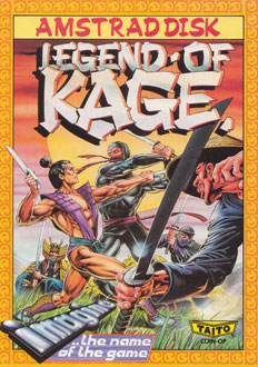 Juego online The Legend of Kage (CPC)