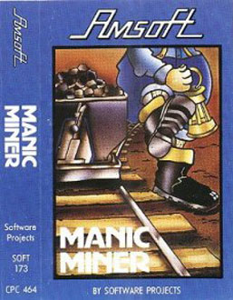 Juego online Manic Miner (CPC)