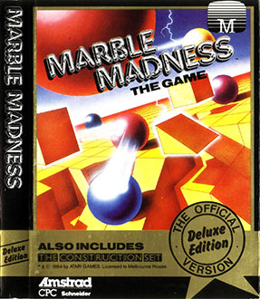 Juego online Marble Madness Deluxe Edition (CPC)