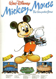 Juego online Mickey Mouse (CPC)
