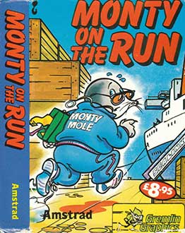 Juego online Monty on the Run (CPC)