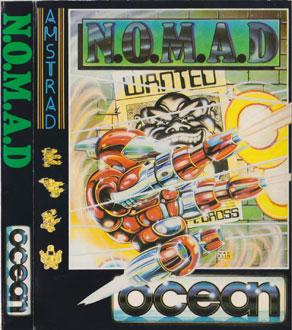 Carátula del juego N.O.M.A.D. (CPC)