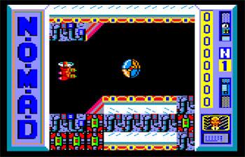 Pantallazo del juego online N.O.M.A.D. (CPC)