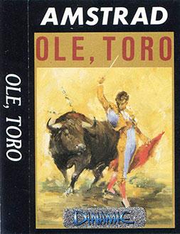 Carátula del juego Ole Toro (CPC)