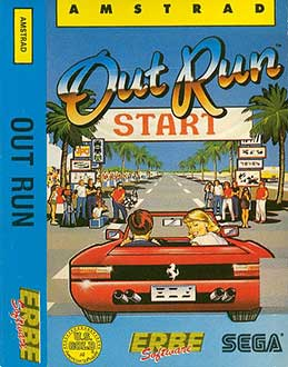 Juego online Out Run (CPC)
