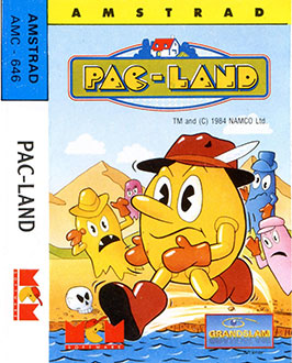 Juego online Pac-Land (CPC)