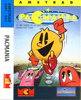 Juego online Pac-Mania (CPC)