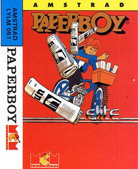 Juego online Paperboy (CPC)