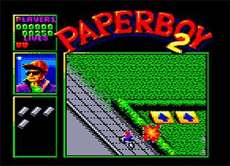 Imagen de la descarga de Paperboy 2
