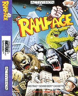 Juego online Rampage (CPC)
