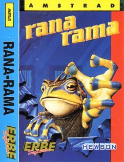 Juego online Rana Rama (CPC)