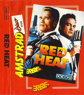 Portada de la descarga de Red Heat