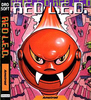 Carátula del juego Red Led (CPC)