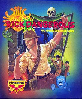 Portada de la descarga de Rick Dangerous